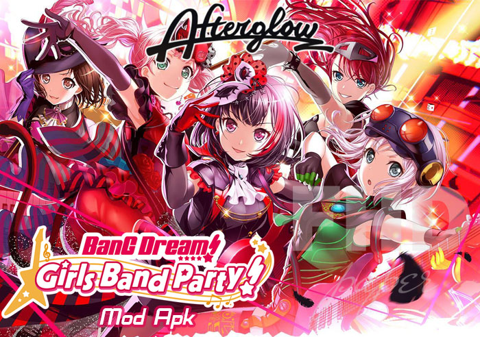 Game Bang Dream Mod Apk Afterglow