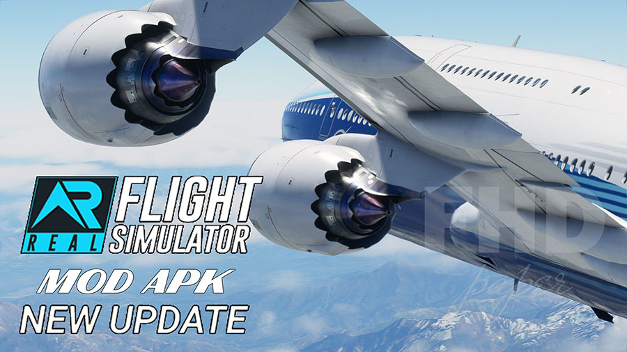 Cara Install RFS - Real Flight Simulator Mod Apk